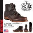 ウルヴァリン WOLVERINE 1000マイル ブーツ 1000 MILE BOOT Dワイズ W05301 ブラウン ワークブーツ あす楽