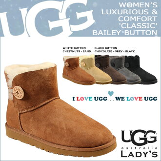 UGG UGG mini Bailey button 3352 MINI BAILEY BUTTON boots women's