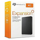 【送料無料】 SEAGATE Expansion 外部HDD 4TB ポータブルハードディスク シーゲート テレビ対応 STEA4000400