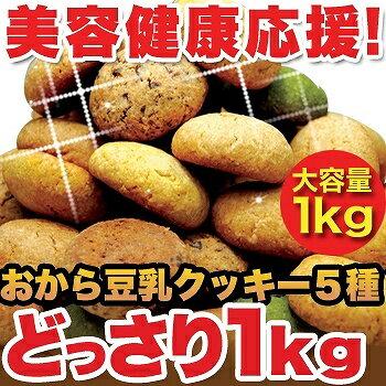 ほろっと柔らかヘルシー&DIET応援新感覚満腹おから豆乳ソフトクッキー1kg