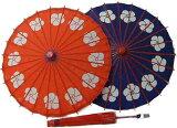 持ち手がかわいい♪お子様向けの日傘です。コケシ傘 風車【あす楽対応】