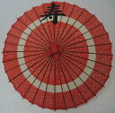 蛇の目 花輪赤 寿26cm黒字正楷書