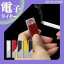 電子ライター USB スリム USBライター 電熱 充電式 USB充電式ライター 熱線ライター 防災グッズ 防災用品 ライター タバコ たばこ コンパクト ER-SLMLT