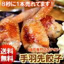 【 送料無料 】 手羽先餃子 20本セット (5本入×4袋)【 国産 鶏肉 おつまみ 晩酌 ギ