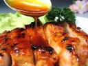 厳選された水郷どりのもも肉を、当店独自の味噌ダレでプリッと焼き上げた照り焼きチキンステーキ。水郷どりみそ味チキンステーキ(照り焼きチキン)