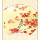 色紙 三幸 趣1号 扇面紅葉 K5-025 葉水 色紙のみ 154791123
