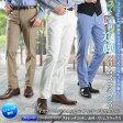 コットンスラックス ノータック ストレート(メンズ ビジネス パンツ 紳士 クールビズ COOLBIZ) pants【送料無料】 02P01Oct16
