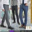 TR素材・スキニースリムスラックス(ノータック テーパードパンツ メンズ スラックス 秋冬 美脚 スラックス スリム ビジネス 紳士 スタイリッシュ 細め ビジネス) pants 05P03Dec16
