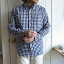 INDIVIDUALIZED SHIRTS インディビジュアライズド シャツ B.D.Shirt Standard Fit / Big Gingham Chec...