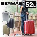 【ワンエントリーでP+9倍】スーツケース キャリー ハード 旅行かばん!バーマス BERMAS スーツケース(52L) 60265 メンズ レディース 中型 旅行 ハードキャリー[通販]【ポイント10