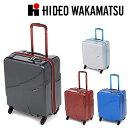 [42L] [2〜3泊程度] [4輪] スーツケース ハードキャリー ヒデオワカマツ HIDEO WAKAMATSU 8575281