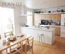 システムキッチン ラクシーナ PLAN3 I型造作対面プラン パナソニック