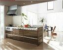 ラクエラ Plan7 造作対面I型 システムキッチン キッチン部のみ クリナップ/リクシル