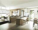 アレスタ Plan1 オープン対面キッチン センターキッチン ペニンシュラ I型 システムキッチン キッチン部のみ サンウェーブ/リクシル