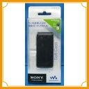 ポータブルメディアプレイヤーケース カバー WALKMAN SONY NW-E050 ブラック 黒 手帳型 フリップ CKS-NWE050/B