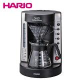 [EVCM-5B] ハリオ コーヒーメーカー V60珈琲王コーヒーメーカー HARIO ハンドドリップ ペーパードリップ式 透明ブラック 【送料無料】※ご注文時の在庫状況により後継機種のEVCM-5TBでの出荷となります。