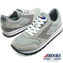 BROOKS HERITAGE ブルックス ヘリテージ WOMEN CHARIOT (205) Athletic Grey/White