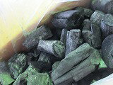 Laos bincho charcoal, 荒上-Maru 15kgx6 − − 90 kg, 1 shipping, S round size, marubutsu, grilled chicken, grilled meat, grilled dishes difficult to repel bincho charcoal is. It is reasonable easy to handle, very popular products. Quick catch fire and is the