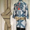 ワンタッチ角帯 (幅:約8cm) 一本どっこ こげ茶(No.9) [ 祭り 衣装 大人 祭
