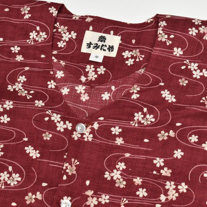 <あす楽対応>祭すみたや限定商品 鯉口シャツ ...の紹介画像3