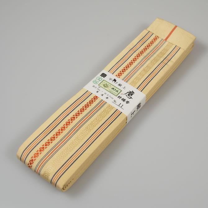 <送料無料>お祭り用品 正絹平ぐけ帯 絹-11...の紹介画像2