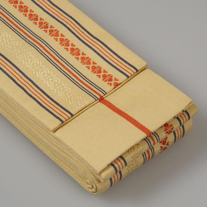 <送料無料>お祭り用品 正絹平ぐけ帯 絹-11...の紹介画像3