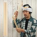 和楽器用品 太鼓バチ 檜葉(ヒバ) 細長サイズ