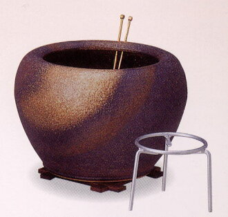 "Braziers 火鉢 [The hibachi (""fire bowl"") is a traditional Japanese heating device. ]"