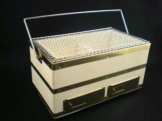 諾托矽藻土切手工製作臺式木炭火盆 Longhorn 號 30 (w 網路)-譚木炭與 1 分鐘
