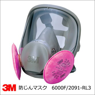 Asbestos and dioxin response masks 3 M (3 m) 6000F/2091-RL3 expression replace dust mask all rhombohedral