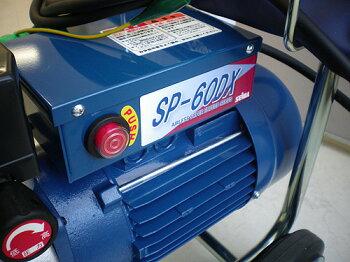 精和産業ダイヤフラム式エアレス塗装機電動エアレススーパー60DX(ホース30Mセット)フリーパターンチップ付