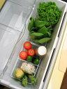 [えつこの野菜キーパー] 収納 冷蔵庫内 野菜 野菜室 ホワイト 日本製