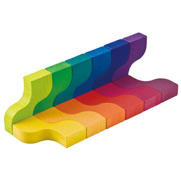 ベリ・デザイン BELI DESIGN 木の積木 クレア BD90-1-2 木製 知育玩具
