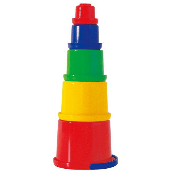 フックスFUCHSフックス・スタックバケツ・小FU3502(水遊び)砂遊び水遊び砂場知育玩具