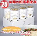 非常食・災害用食品 サバイバルフーズ ツーアンドハーフ・ファミリーセット 野菜シチュー 10041 送料無料