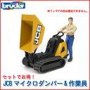 ブルーダー bruder JCBマイクロダンパー&作業員 62004