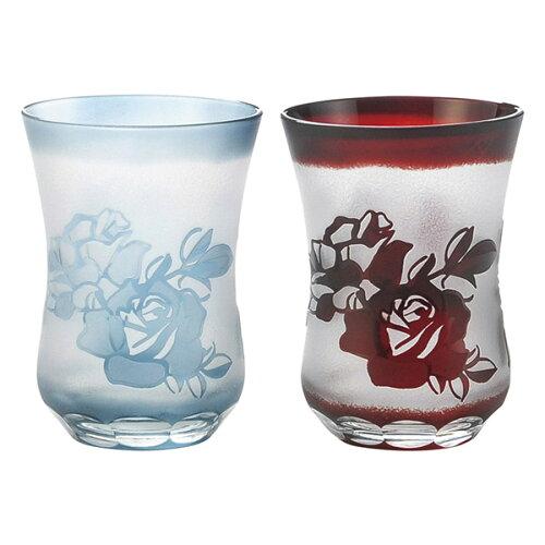 切子屋 ペア酒杯 UGS-05(ギフト 詰め合わせ ギフトセット お中元 お歳暮)