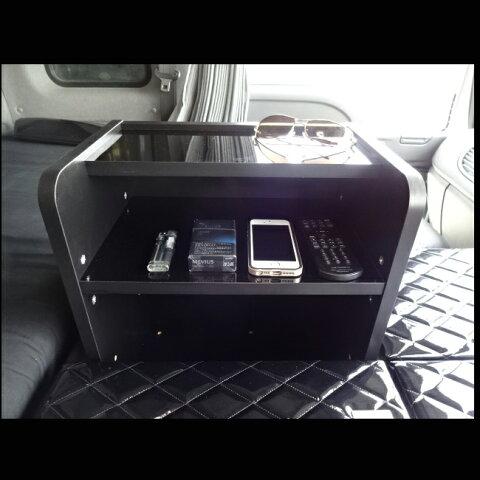 いすゞ (オプション) ギガ 棚 ラック コンソール テーブル 内装 収納 オプション 無線機 トラック 小物入れ 棚板