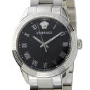 ヴェルサーチ VERSACE レディース 腕時計 P6Q99FD008S099 クォーツ ブラック/...