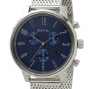 ポールスミス Paul Smith 腕時計 メンズ BR4-012-71 チャーチ ストリート クロノグラフ ネイビー×シルバー 信頼の日本製