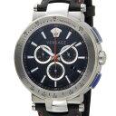 ヴェルサーチ VERSACE メンズ 腕時計 VFG040013 ミスティック スポーツ クロノグラフ ブラック 新品 送料無料
