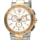 ヴェルサーチ VERSACE メンズ 腕時計 VFG130015 ミスティック スポーツ クロノグラフ ホワイト×ローズゴールド DEAL-SP 新品 送料無料
