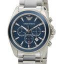 エンポリオアルマーニ EMPORIO ARMANI 腕時計 AR6091 シグマ ネイビーブルー メンズ 新品 送料無料