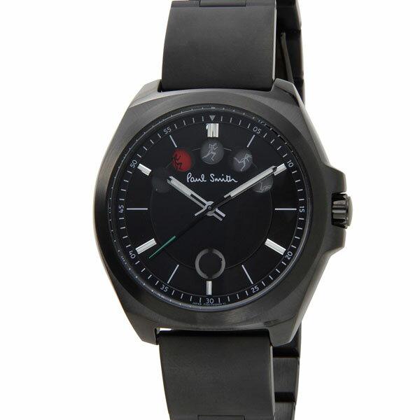 ポールスミス Paul Smith 20周年記念モデル 世界2015本限定 ランニングマン 腕時計 メンズ BM5-348-51 ブラック FIVE EYES 信頼の日本製 ポールスミス Paul Smith 時計 メンズ