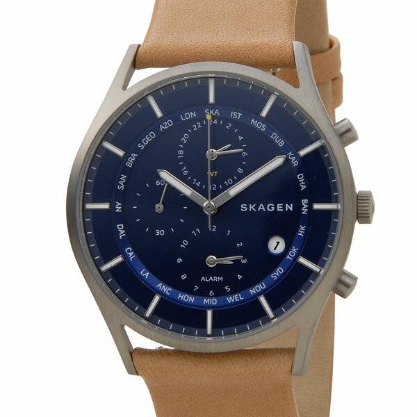 スカーゲン SKAGEN 腕時計 SKW6285 ホルスト ワールドタイム ブルー メンズ 時計 新品 送料無料 スカーゲン SKAGEN 時計