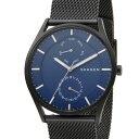 スカーゲン SKAGEN 腕時計 SKW6450 HOLST ホルスト スチール・メッシュ ネイビー×ブラック メンズ 時計 新品