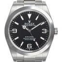 ロレックス ROLEX エクスプローラー 1 最新モデル 214270 N EXPLORER ブラック メンズ 腕時計 新品 【送料無料】