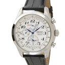 SEIKO セイコー メンズ 時計 SPC131P1 ホワイト クロノグラフ クォーツ 革ベルト 腕時計 ウォッチ