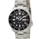 セイコー5 セイコーファイブ メンズ 腕時計 SRPD55K1 ブラック SEIKO セイコー 自動巻き 時計 ウォッチ