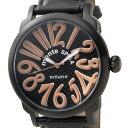 在庫処分 原価処分品(細かいキズ・汚れあり) メンズ 腕時計 【メンズ時計】 MOS1103BK ブラック 【ガガミラノ、フランクミューラー好きにお勧め】 新品